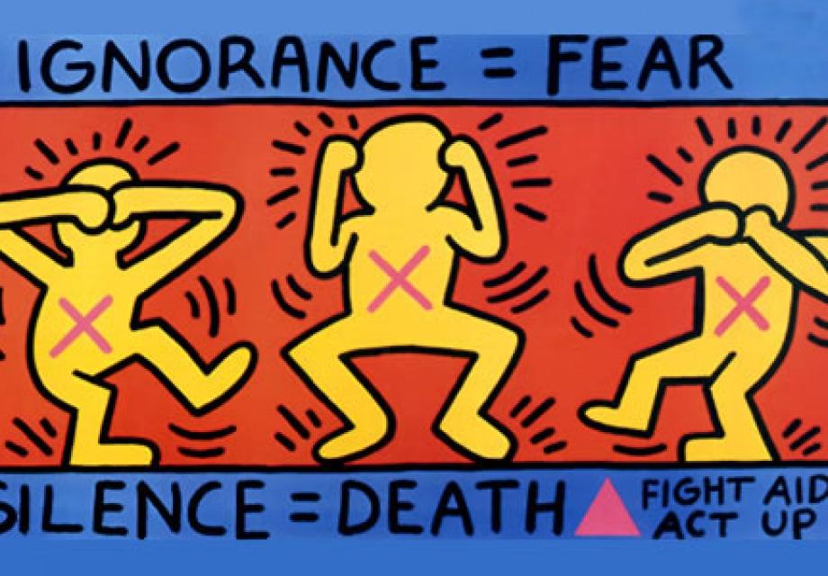 사람과 세상을 하나로 담아, 키스 해링(Keith Haring)