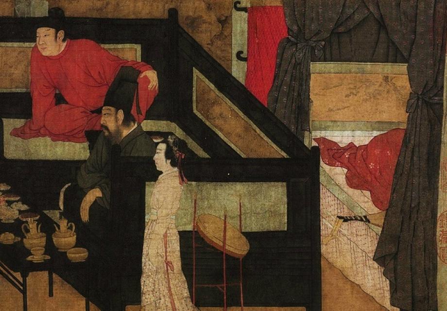 10세기 파파라치 : 고굉중(顧閎中)의 <한희재 야연도>