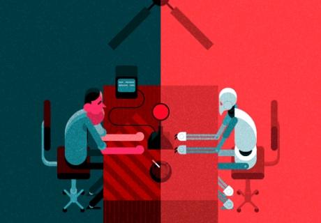 놀라운 GIF 애니메이션 삽화의 세계 by Robin Davey