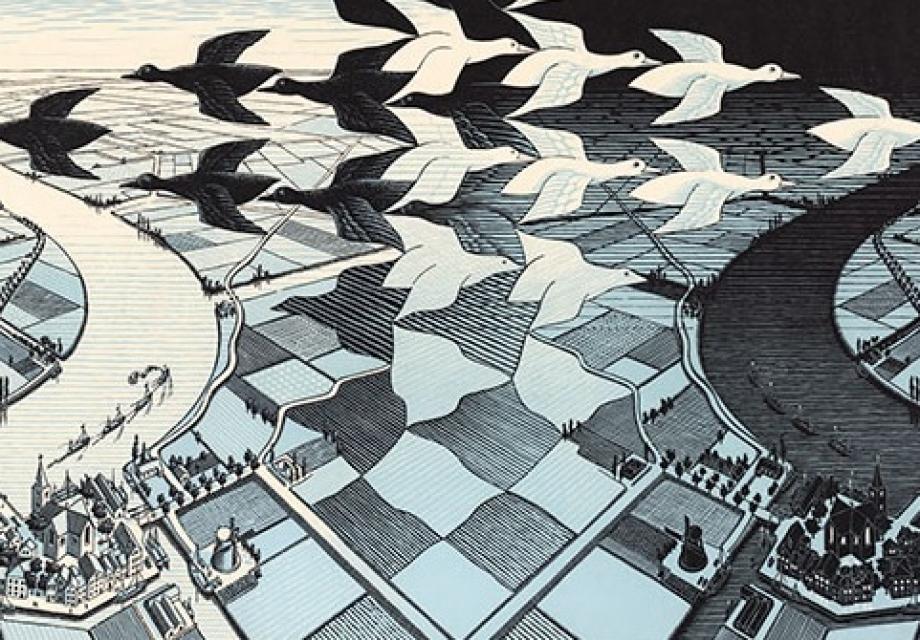 끊임없는 인생의 굴레, 모리츠 에셔 (Maurits Cornelis Escher)