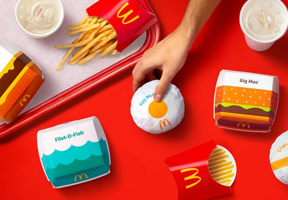 귀여운 맥도날드 리브랜딩