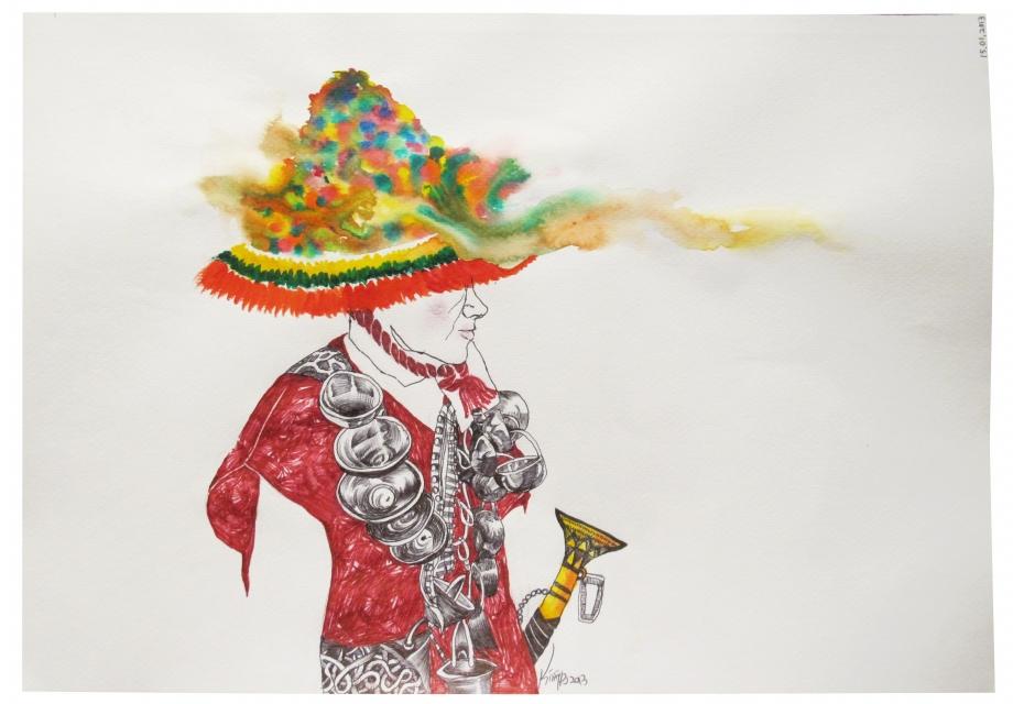 [365 ART ROAD] 그리며 하는 세계일주: 모로코왕국 담기