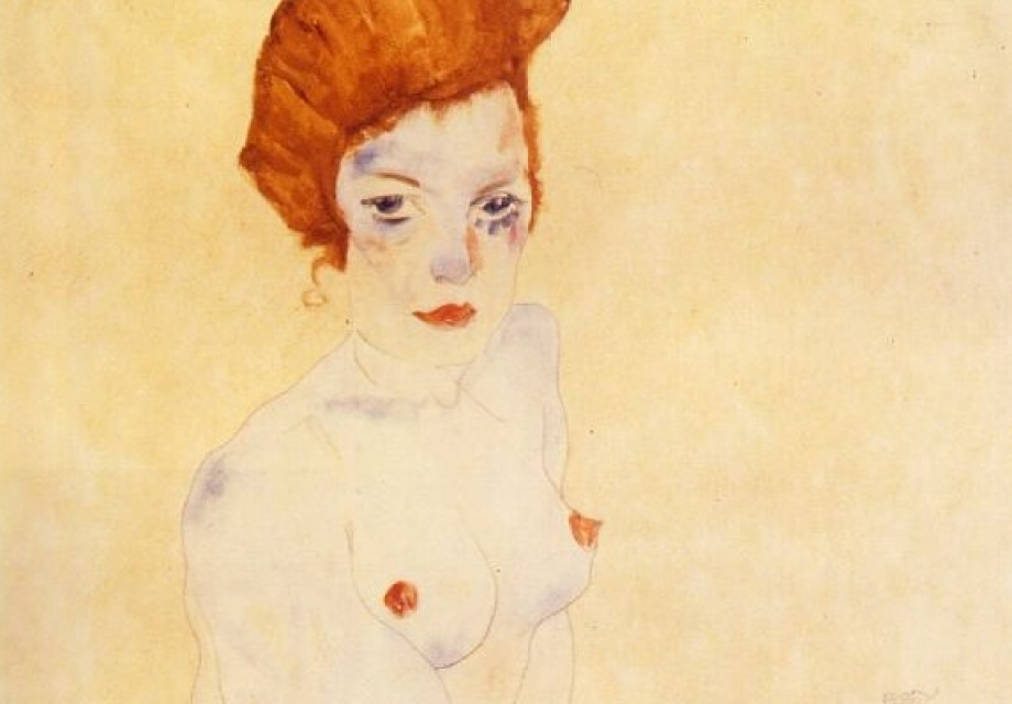 살아있음을 나타내는 욕망에 관하여, 에곤 실레 (Egon Schiele)