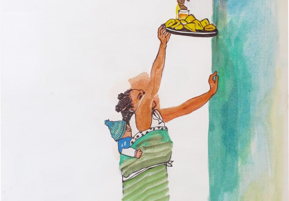[365 ART ROAD] 그리며 하는 세계일주: 내 손으로 느낀 아프리카, 마다가스카르, 아프리카가 준 선물 Ⅱ