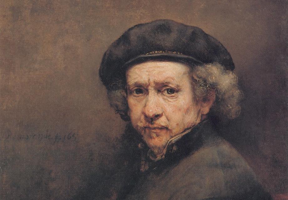 나를 만나는 시간, 렘브란트의 자화상(自畵像)