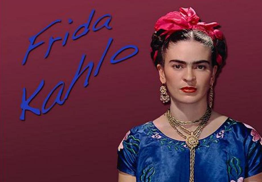 일자 눈썹의 그녀 by. 프리다 칼로(Frida Kahlo)