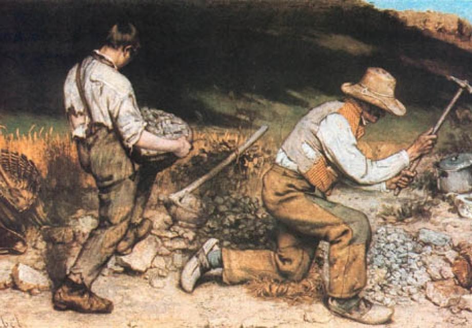 '평범한 사람'을 그리다, 귀스타브 쿠르베(Gustave Courbet)