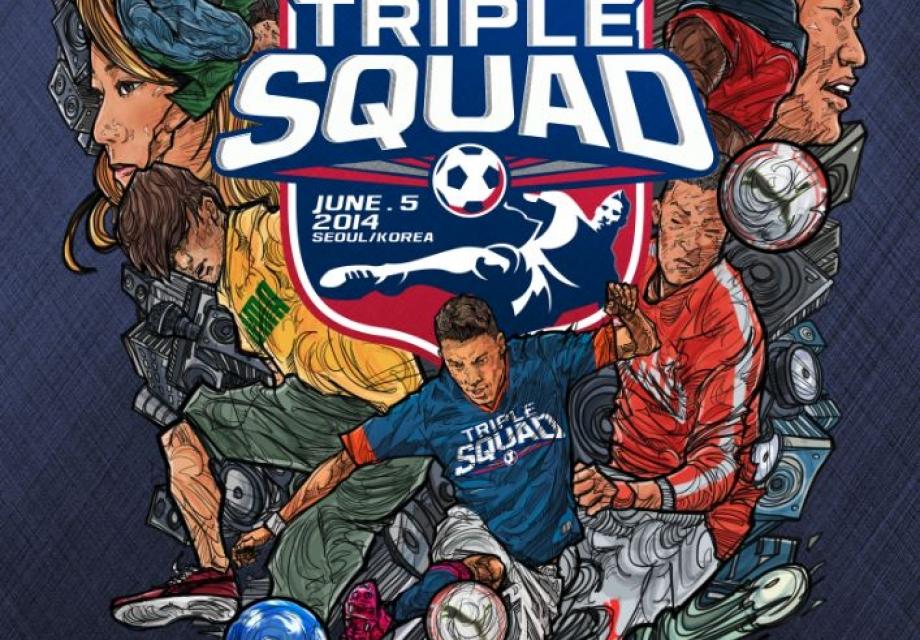 축구복합문화행사 <Triple Squad Festival>