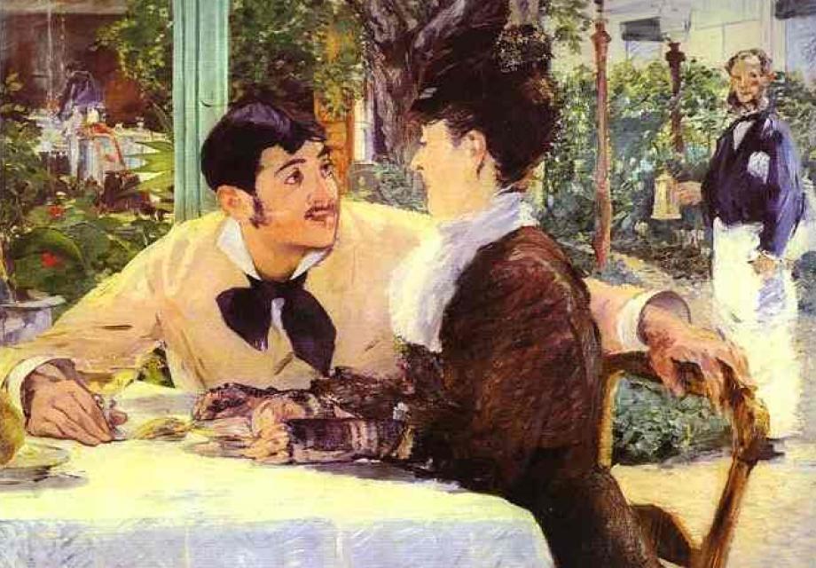 일상의 확대, 에두아르 마네 (Édouard Manet)의 그림들