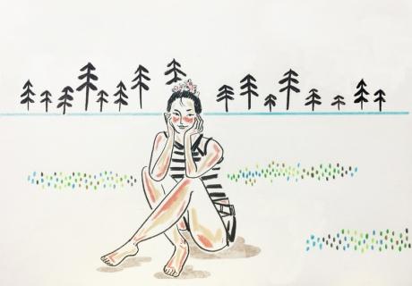 [전지적 작가 시점] 목탄으로 담는 그대들의 이야기, 교은(Kyo eun)