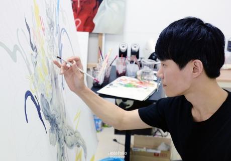 [인터뷰] 참을 수 없는 분노의 표출, 이홍민