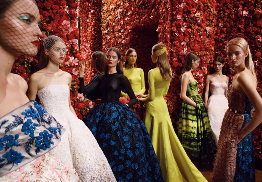꽃이 담긴 패션과 당신의 판타지, Esprit Dior