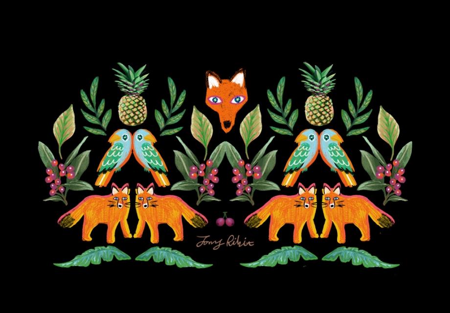 [Wallpaper of the Week] Fox garden by 조니리빗
