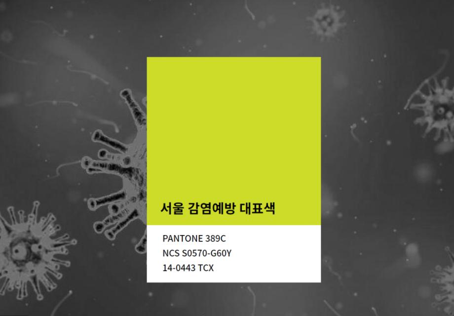 서울 감염예방 색