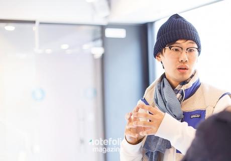 [인터뷰] '세상'을 구성하는 '순환'의 원리, 김건주