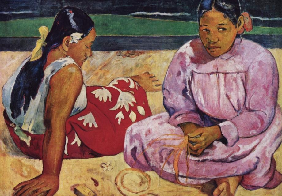 그럼에도 불구하고 나는 전진한다!, 고갱 (Paul Gauguin)