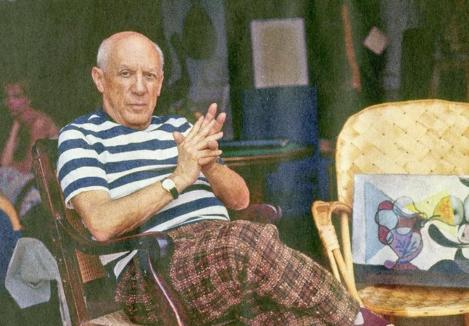 <Dali, Van, Picasso> 3 - 1. 스트라이프 성애자, 파블로 피카소
