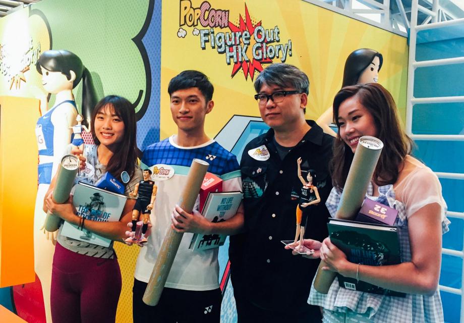 [오프닝 리뷰] Popcorn X 쿨레인 , <FIGURE OUT HK GLORY!>展