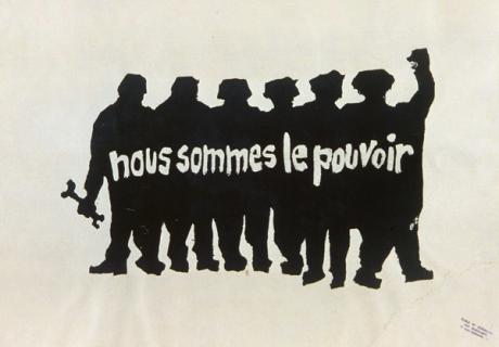 포스터의 힘, 민중공방(l'Atelier populaire)