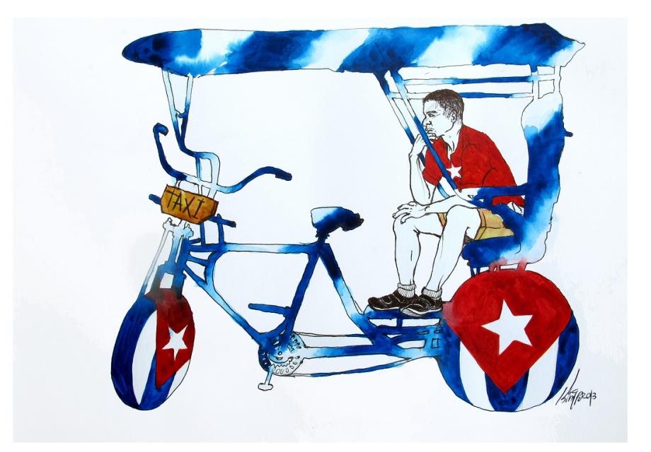 [365 ART ROAD] 쿠바여행의 시작