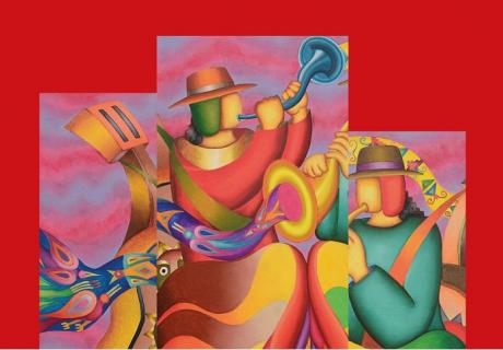 KF갤러리, 마마니 마마니 <어머니 지구 '파차마마'의 색과 안데스 세계관>展