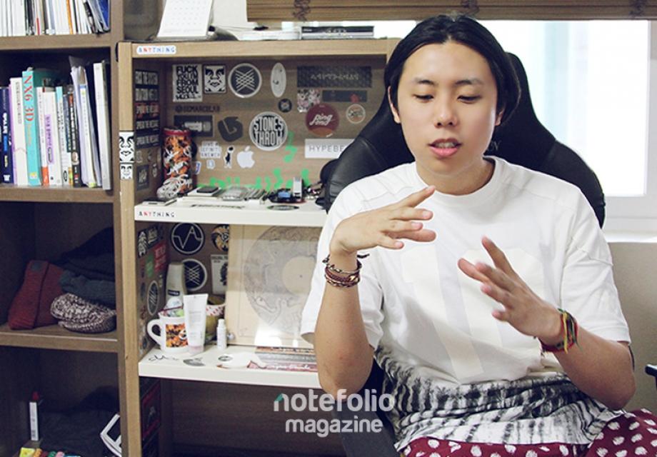 [인터뷰] 기하학, 우주, 여자 :  Super Freak Records 아트 디렉터 김주승